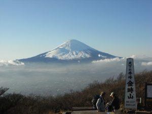 <登山初級A>『日本三百名山 富士を望む天下の秀峰 金時山 日帰り』 【横浜出発】 @ 金時山(横浜発)