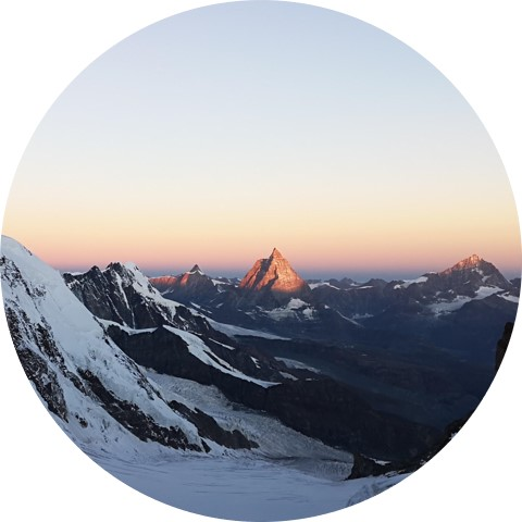 Matterhorn from Monterosa